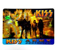 KISS Sticker - Prism, Intrepid Press Conference