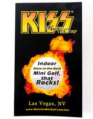 KISS Mini Golf - Original Brocure