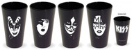 KISS Pint Glass Set - BLACK