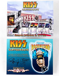 KISS Postcard - KISS Coffeehouse Grand Opening