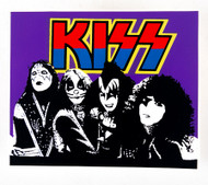 KISS Sticker - KISS in the Park, purple