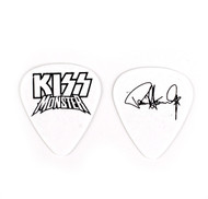 KISS Guitar Pick - Monster White Logo, Paul