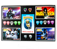KISS Coffeehouse - Framed Guitar Pick set of 14