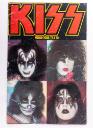KISS Tourbook - Alive II version, 1977 (7/10)