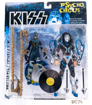 KISS McFarlane Figure - Ace Frehley Psycho Circus Stilt Man, (with record)