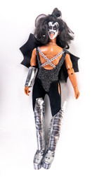 KISS Figure - KISS Mego Doll '78, Gene, (broken leg)