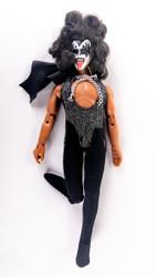 KISS Figure - KISS Mego Doll '78, Gene, (missing leg)