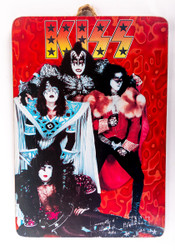 KISS Wall Plaque - Unmasked 1980