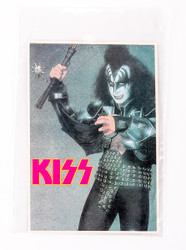 KISS Sticker - Gene with Mace, 1980