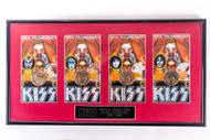 KISS Coins - Psycho Circus, set of 4, (framed)