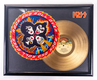 KISS Gold Record - Rock and Roll Over, (unofficial)