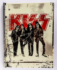 KISS Spiral Notebook - Dressed to Kill, 2012