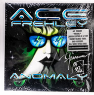 KISS Autograph - Ace Frehley Anomaly Record LP
