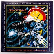 KISS Autograph - Ace Frehley Spacewalk Vinyl LP Album, signed in silver marker