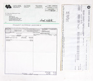 KISS Screen Actor's Guild Royalty Check to Ace Frehley for DRC Movie