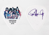 KISS Guitar Pick - Freedom to Rock Flag, Paul.
