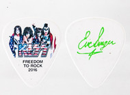 KISS Guitar Pick - Freedom to Rock Flag, Eric