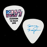 KISS Guitar Pick - Freedom to Rock Flag, Tommy