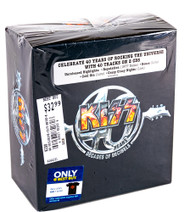KISS CD - Decades of Decibels, Special Edition with shirt.