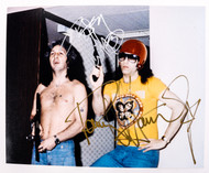 KISS Autograph - Peter and Paul w/toy guns photo