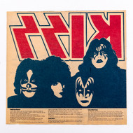 KISS Newspaper Ad - NY Daily News Dynasty Iron-on, 1979, (half-page)