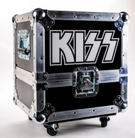 KISSteria Road Case for 2014 vinyl release, (case and extras only, no vinyl)