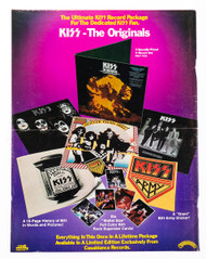 KISS Newspaper Ad - Billboard Originals ad