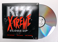 KISS Autograph - Laser Disc, X-Treme Close-Up, signed by entire band