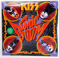 KISS Vinyl Record LP - Sonic Boom, Colored Vinyl, GREEN, (sealed).
