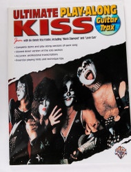 KISS Song Book - Ultimate Play-Along GUITAR Trax