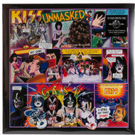 KISS Vinyl Record LP - Unmasked, KISSteria 180 gram, 2014 pressing, (sealed)