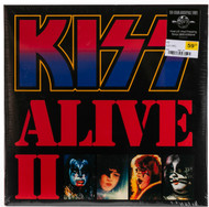 KISS Vinyl Record LP - Alive II, KISSteria 180 gram, 2014 pressing, (sealed)