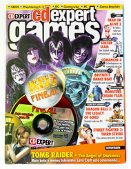 KISS Magazine - CD Expert Games, Brazil