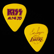 KISS Guitar Pick - Alive 35, Lakers Basketball, Eric.