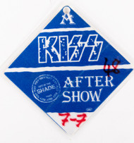 KISS Backstage Pass - Hot in the Shade After Show, blue