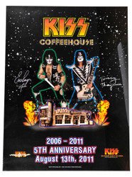 KISS Poster - Coffeehouse 5th Anniversary