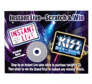 KISS Instant Live Scratch & Win 2004