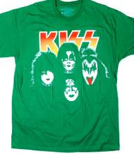 KISS T-Shirt - Reunion, Green, (size XL)