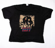 KISS T-Shirt - Wanna Rock and Roll all NIte, (size XL)