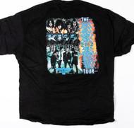 KISS T-Shirt - KISS/Motley Crue 2012, (size 2XL)
