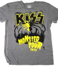 KISS T-Shirt - Monster 2012, Trunk boutique shirt, (size 2XL)