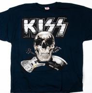 KISS T-Shirt - The Tour Skull and Tour Dates, (size 2XL)