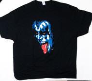 KISS T-Shirt - Gene Blue Head, (size 3XL)