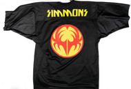 KISS Football Jersey - SIMMONS Icon, (size XL)