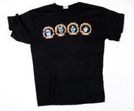 KISS T-Shirt - Psycho Circus, four frames, (size XL)