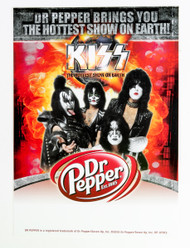 KISS Sticker - Dr Pepper promo