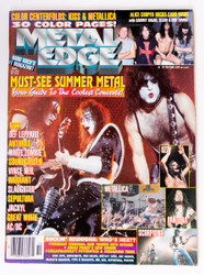 KISS Magazine - Metal Edge, Must-see Summer Metal 10/96