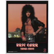 KISS Poster - Eric Carr Lithograph, (tape marks on back)