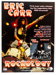 KISS Poster - Eric Carr Rockology