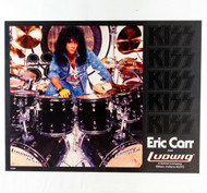 KISS Poster - Eric Carr Ludwig, Crazy Nights 1987